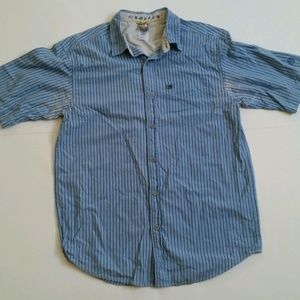 North Face A5 Series Short sleeve button shirt Med